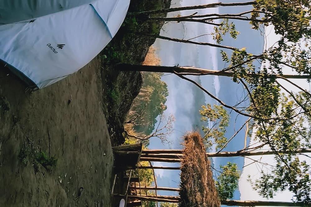 Comfort sátor, kilátással a dombra - Kilátás a tóra