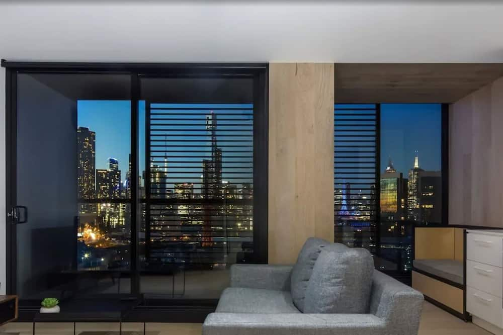 One Bedroom City View Apartment - Living Area