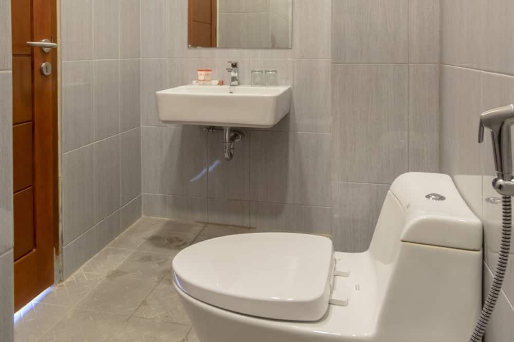 デラックス ツインルーム シングルベッド 2 台 禁煙 - バスルーム