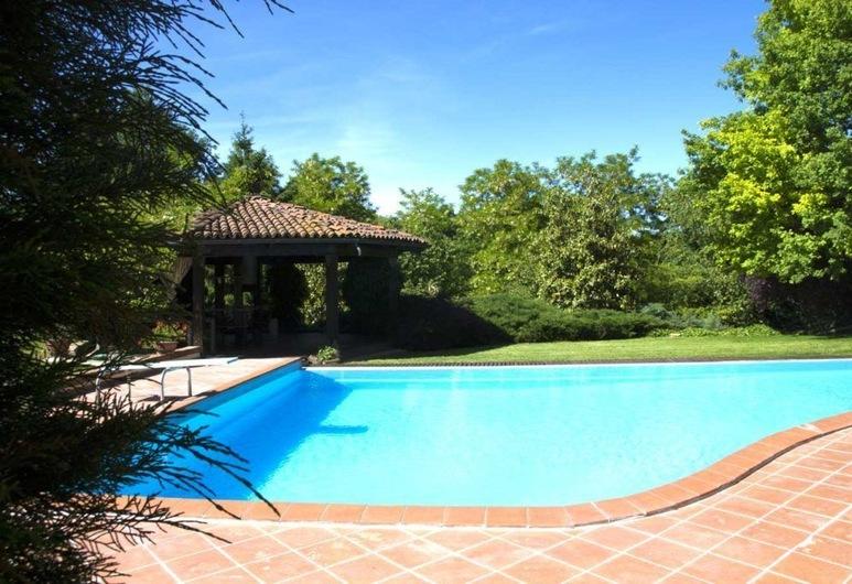 Tenuta degli Angeli Rossi, Asti, Vanjski bazen