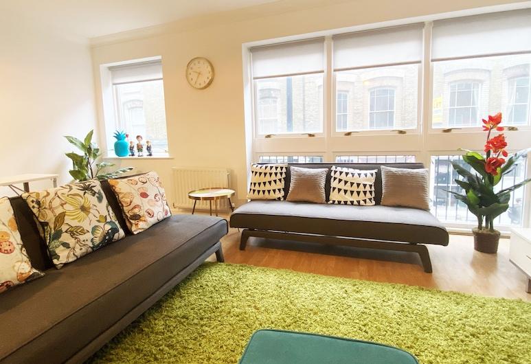 我的短住酒店 - 肖迪奇紅磚巷, 倫敦, 公寓, 1 間臥室, 客廳