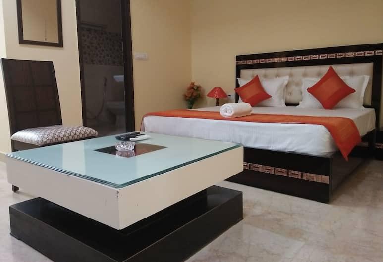 SRM Hotel Ashoka Palace, Yeni Delhi, Deluxe Tek Büyük Yataklı Oda, 1 Çift Kişilik Yatak, Sigara İçilmez, Şehir Manzaralı, Oda