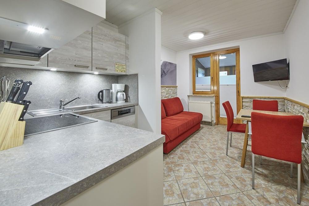 Apartamento, 1 habitación, vistas a la montaña (Appartement Top 15) - Zona de estar