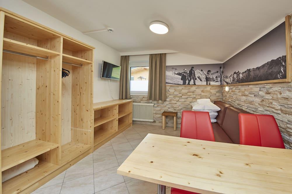 Apartamento, 1 habitación, vistas a la montaña (Appartement Top 8) - Zona de estar