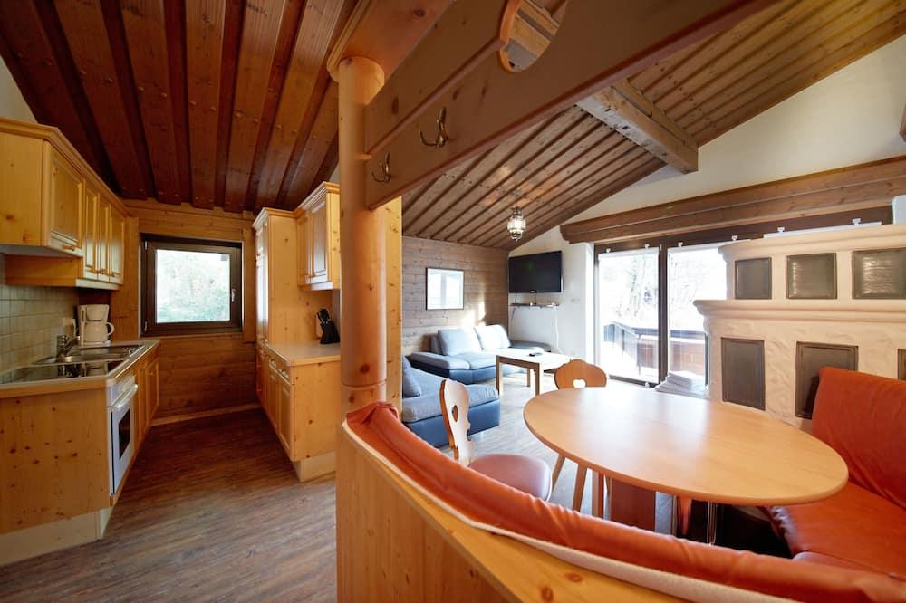 Apart Daire, 2 Yatak Odası (Appartement) - Oturma Alanı