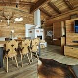 Chalet de lujo, 3 habitaciones, sauna, vistas a la montaña (Chalet - SMARAGD) - Zona de estar