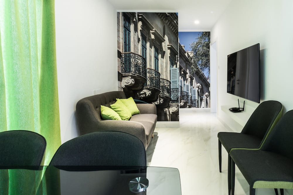 شقة - غرفتا نوم - ساونا (Penthouse) - منطقة المعيشة