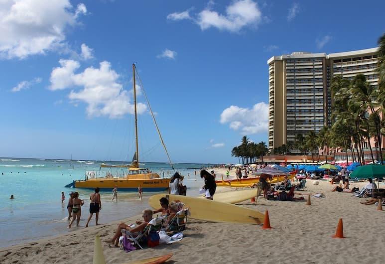 Kuhioge 1205 - 1 Br Condo, Honolulu, Beach
