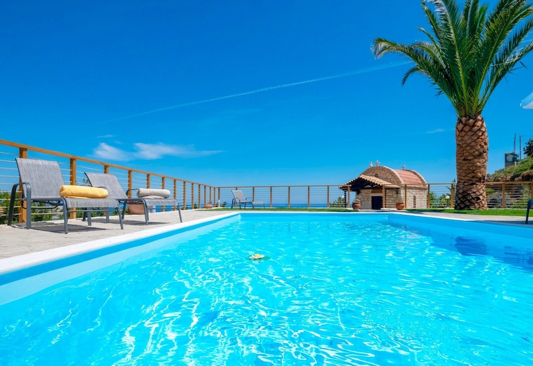 Villa Lygaria, Malevizi, Outdoor Pool