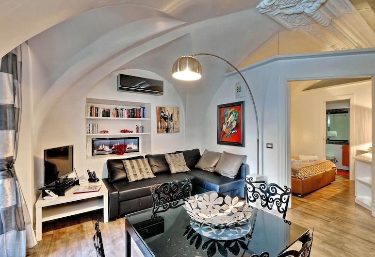 Campo De Fiori Stylish Apartment, Rome, Salle de séjour