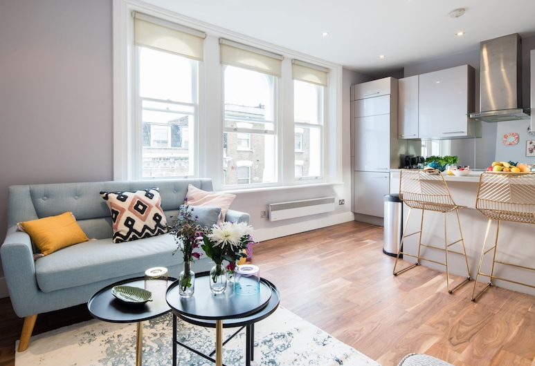 Sweet Inn - Notting Hill, London, Apartment, 2Schlafzimmer (Notting Hill III), Wohnzimmer