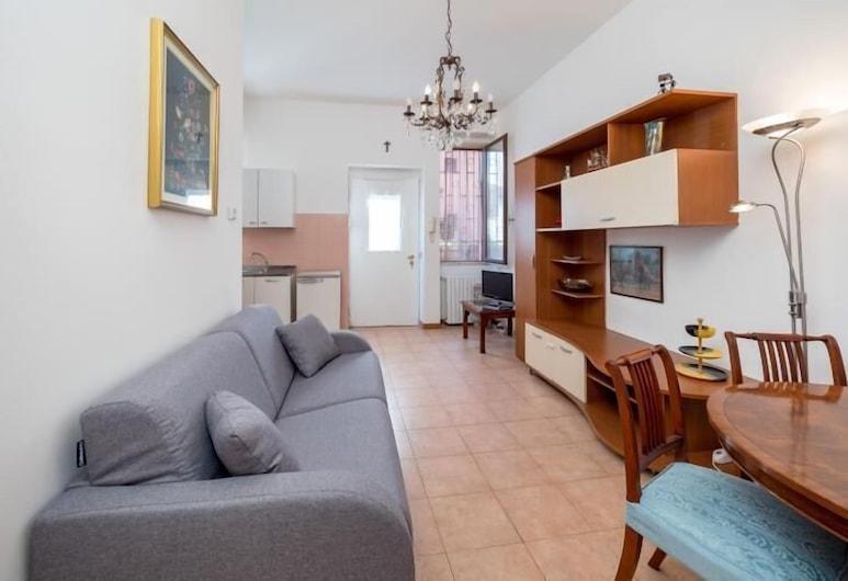 Viale Corsica 38 , Μιλάνο, Διαμέρισμα, 1 Υπνοδωμάτιο, Μπαλκόνι, Θέα στην Πόλη, Περιοχή καθιστικού