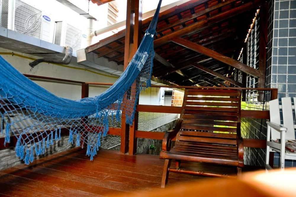 Tomannsrom, 1 dobbeltseng, ikke-røyk - Terrasse/veranda