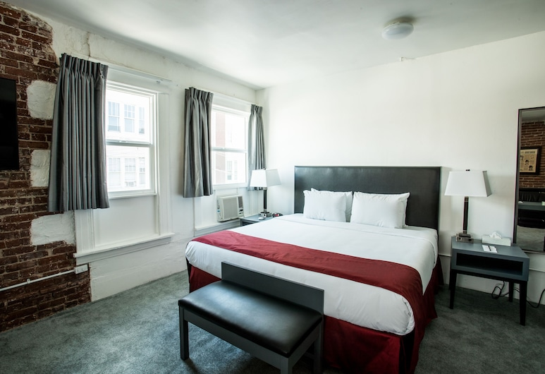 AMERICAN HOTEL LOS ANGELES, Los Angeles, Grand Suite, 1 King Bed, Shared Bathroom, Guest Room