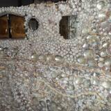 La increíble y único castillo de Shell en zona tranquila, escénica San Carlos, Sonora, México