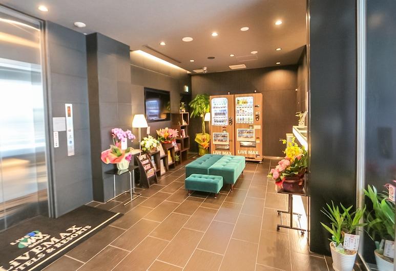 HOTEL LiVEMAX TAKADANOBABA-EKIMAE, Tokyo, Lobi