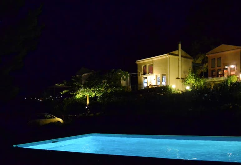 Villa Artemis, Kérkyra, Välibassein