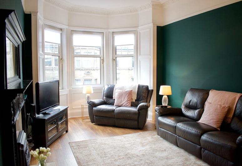 2 Bedroom Apartment Near Murrayfield, Édimbourg