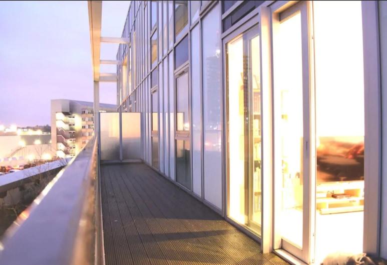 現代 3 房頂樓公寓酒店, 倫敦, 露台