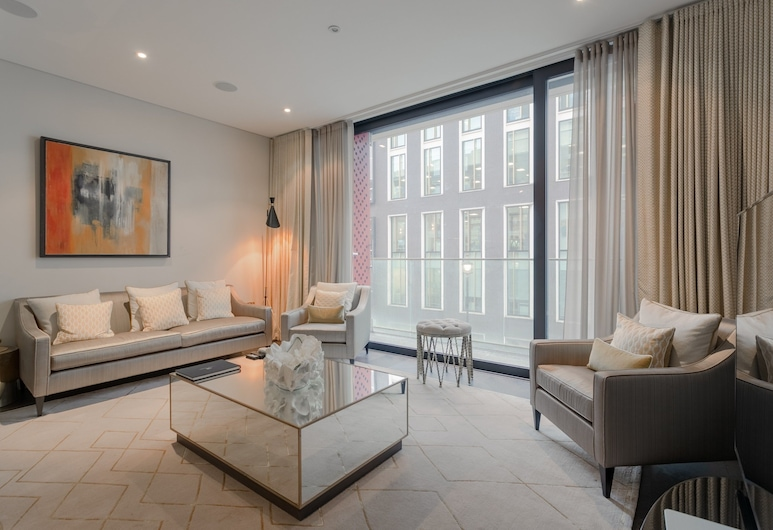 2 房公寓酒店 - 近牛津街, 倫敦, 公寓 (2 Bedrooms), 客房