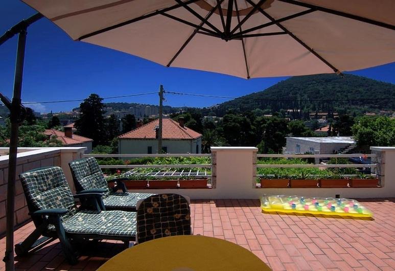 Villa Timy, Dubrovnik, Departamento estándar, 1 habitación, vista a la ciudad (A1), Terraza o patio