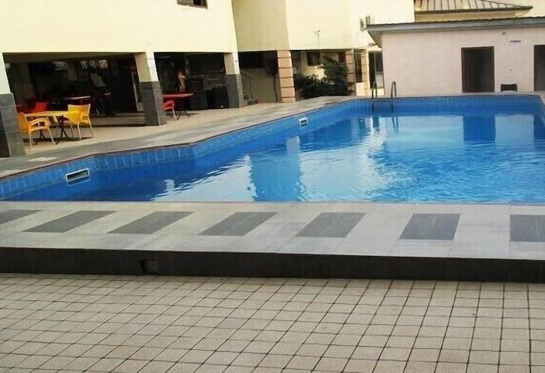 Keegee Hotel, Accra, Pool