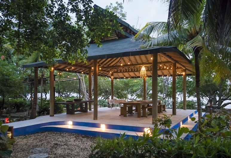 Hotel Playa Manglares Isla Barú, Cartagena, Speisen im Freien