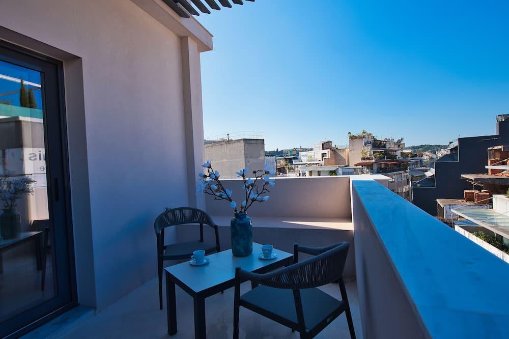 Habitación superior, balcón (Acropolis View) - Balcón