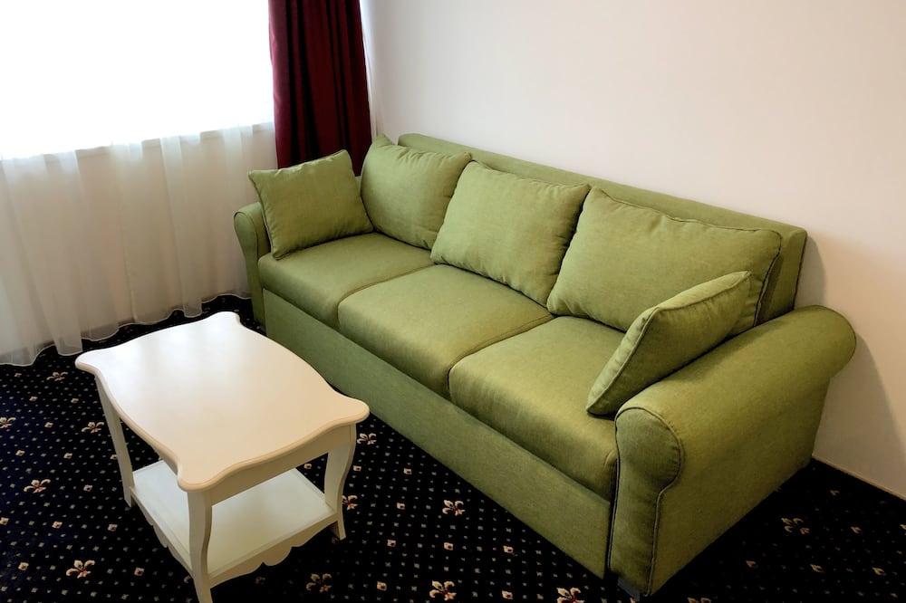 Family Apartment, Non Smoking, Balcony 2Ad/2Ch - Living Area