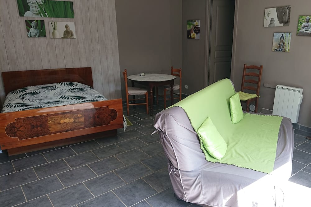 Comfort Tek Büyük Yataklı Oda (Bambou) - Oturma Alanı