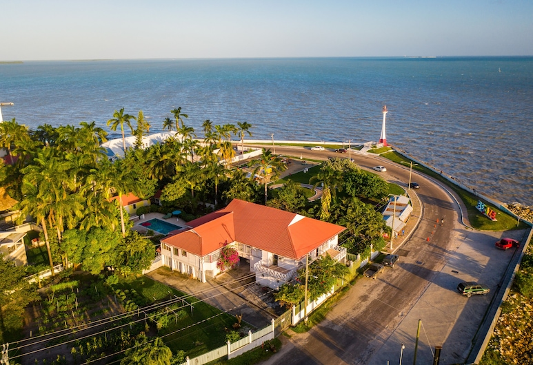 Harbour View Boutique Hotel & Yoga Retreat, Belize City, Hotel Front