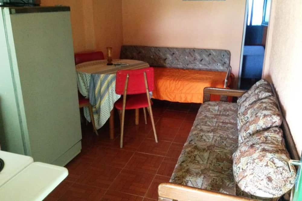 Divvietīgs numurs, 1 divguļamā gulta un dīvāngulta, nesmēķētājiem - Dzīvojamā zona