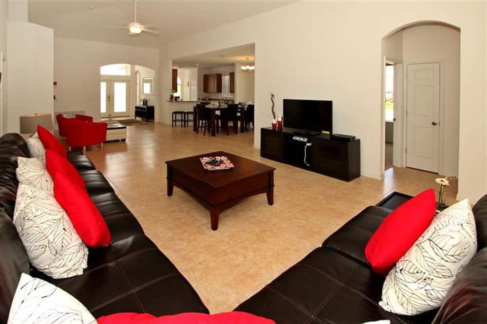 單棟房屋, 4 間臥室 - 客廳