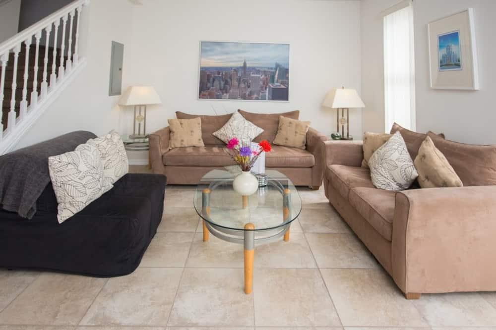 Casa de ciudad, 3 habitaciones - Sala de estar