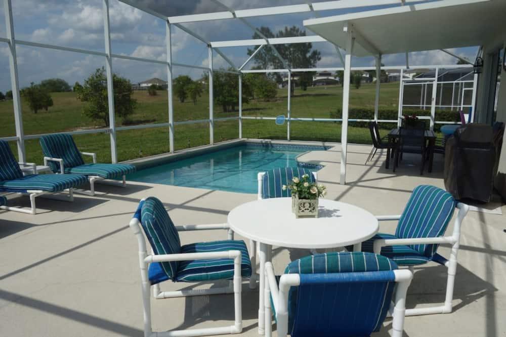 House, 5 Bedrooms - Outdoor Pool