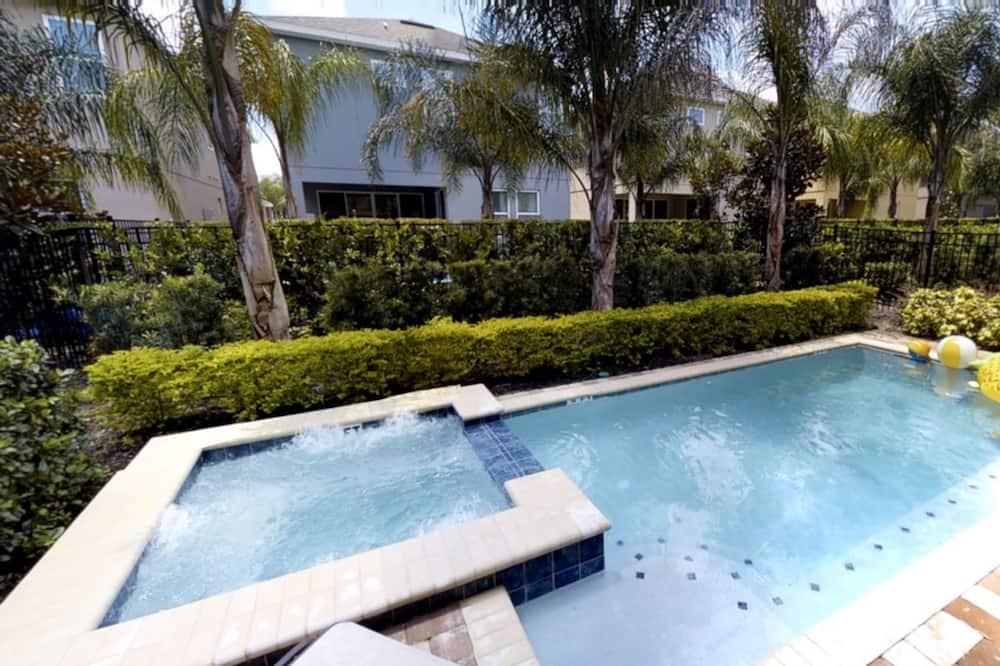 Коттедж, 6 спален - Открытый бассейн