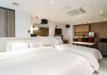 A(z) Biennale Hotel hotel fényképe itt: Gwangju