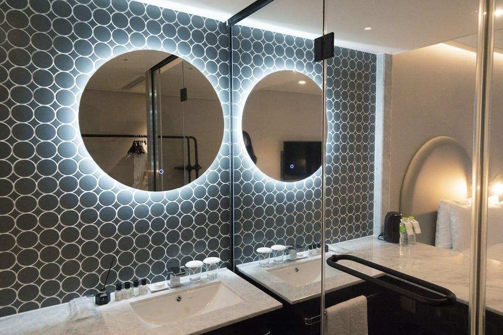 スタンダード ツインルーム オーシャンビュー - バスルーム