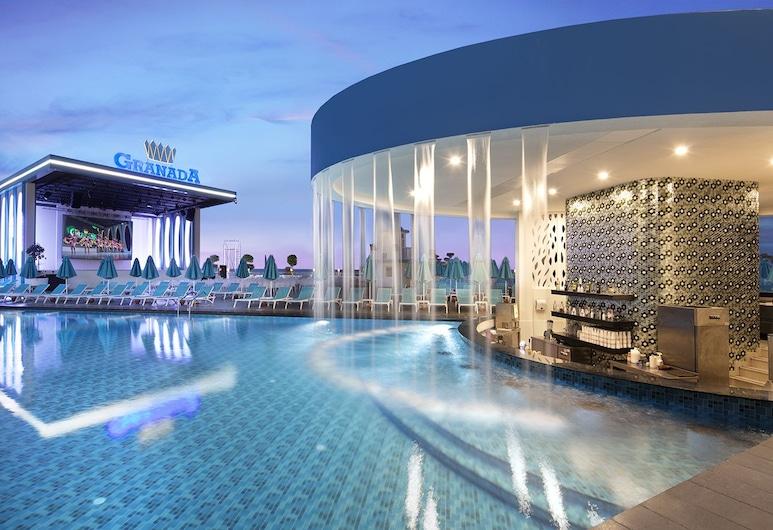 Granada Luxury Beach - All Inclusive, Alanya, Bar pri bazéne