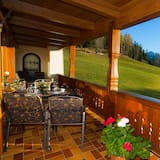 Апартаменти, з видом на гори (Morgensonne) - Балкон
