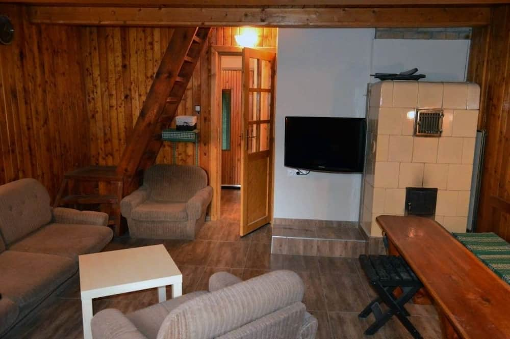 Chalet básico, 2 habitaciones - Sala de estar