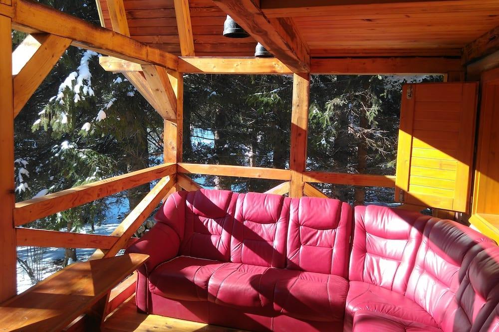 Chalet básico, 2 habitaciones - Terraza o patio