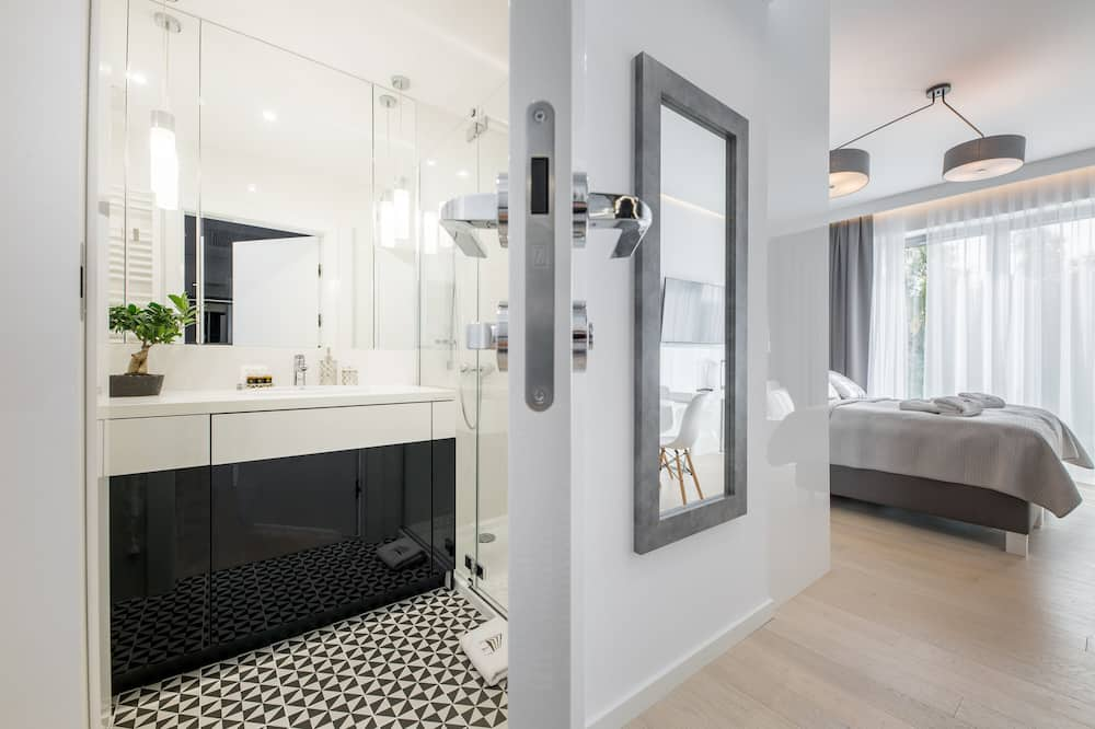 Улучшенная студия-люкс (I) - Ванная комната