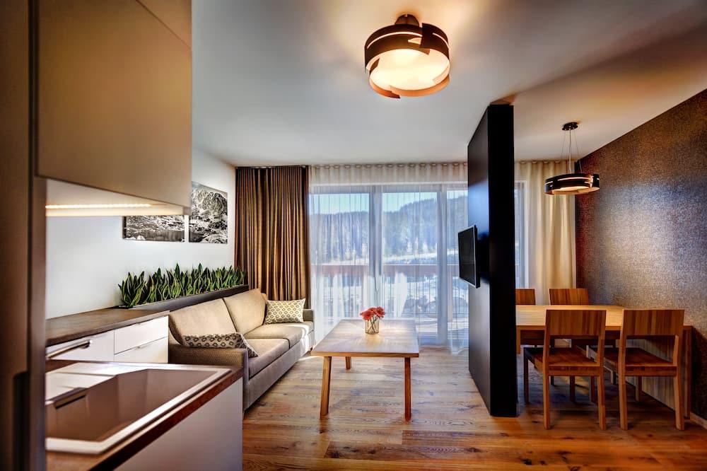 Apartment Modern, 2 Bedrooms - Área de Estar