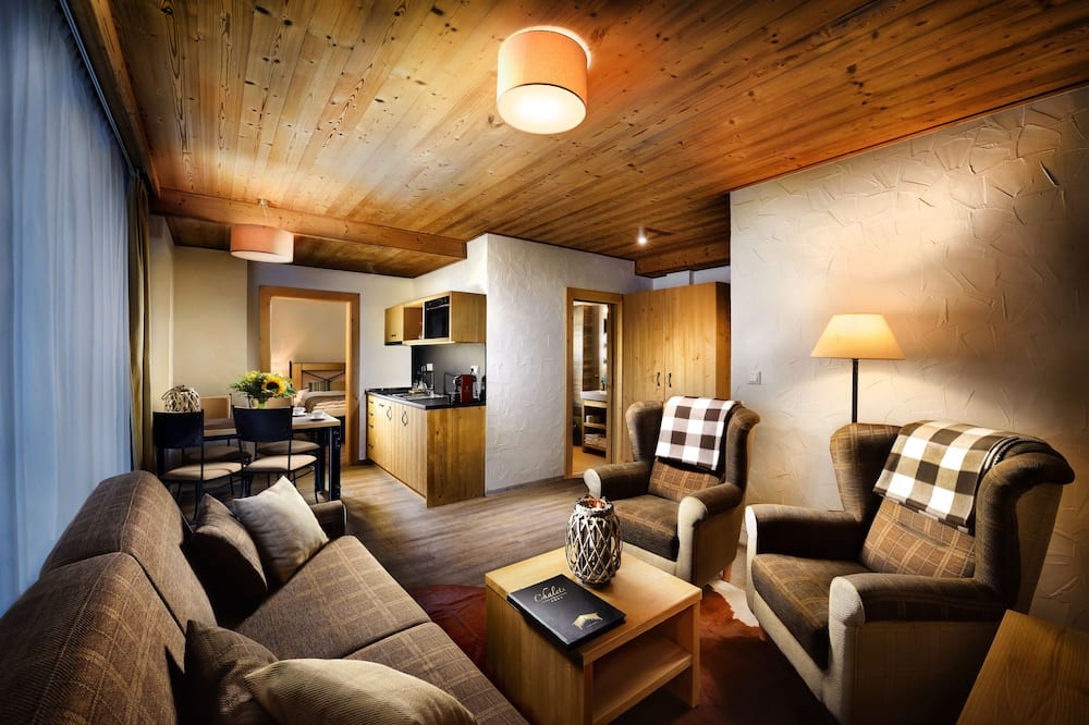 Apartment Mountain, 1 Bedroom - Sala de Estar