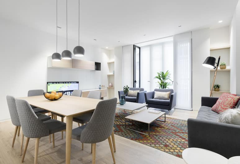 Ruben Dario Apartment, Madrid, Lounge