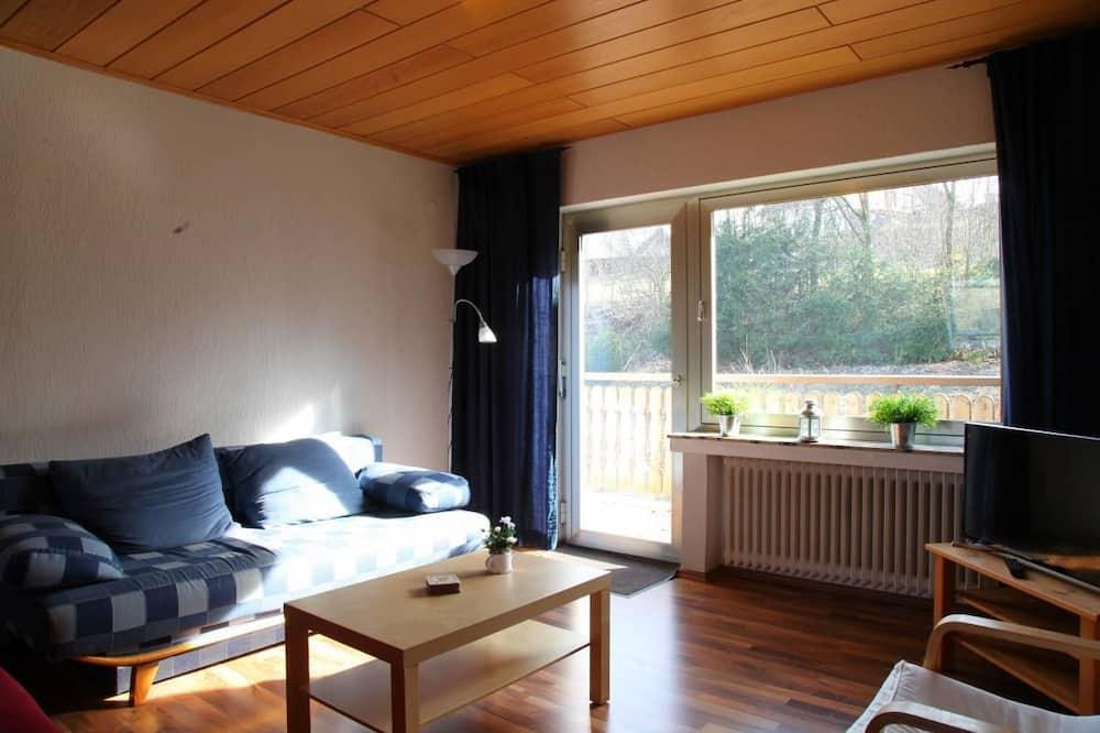 アパートメント (Hesborn 5; incl. 60 EUR cleaning fee) - リビング エリア
