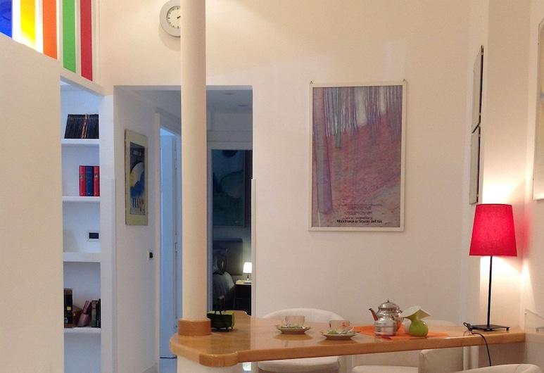 法布里亞諾詹蒂萊公寓酒店, 羅馬, 公寓, 2 間臥室 (int. 6), 客廳