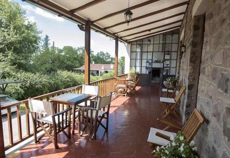 Hostal El Cerrito San Lorenzo, Villa San Lorenzo, Terrasse/Patio