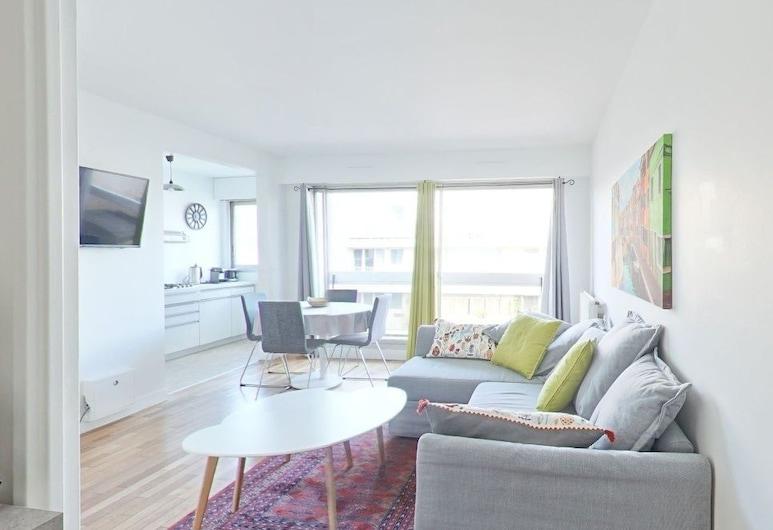 阿勒西亞 4 人公寓酒店, 巴黎, 公寓, 城市景, 客廳